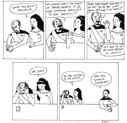 Riker's a dick.